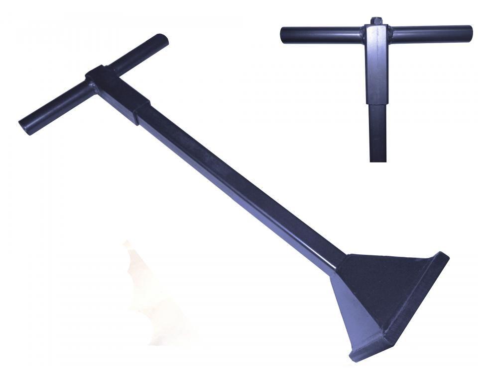 Stamper staal schokabsorberende handgreep