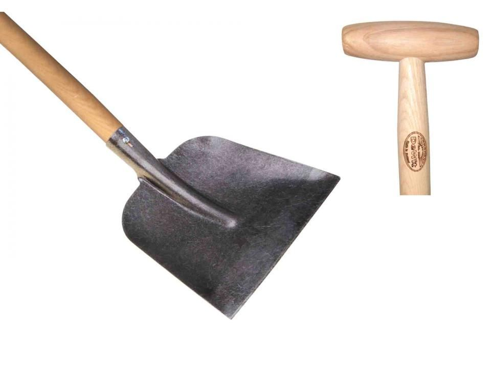 Concrete / snow shovel ash T-handle 1100mm