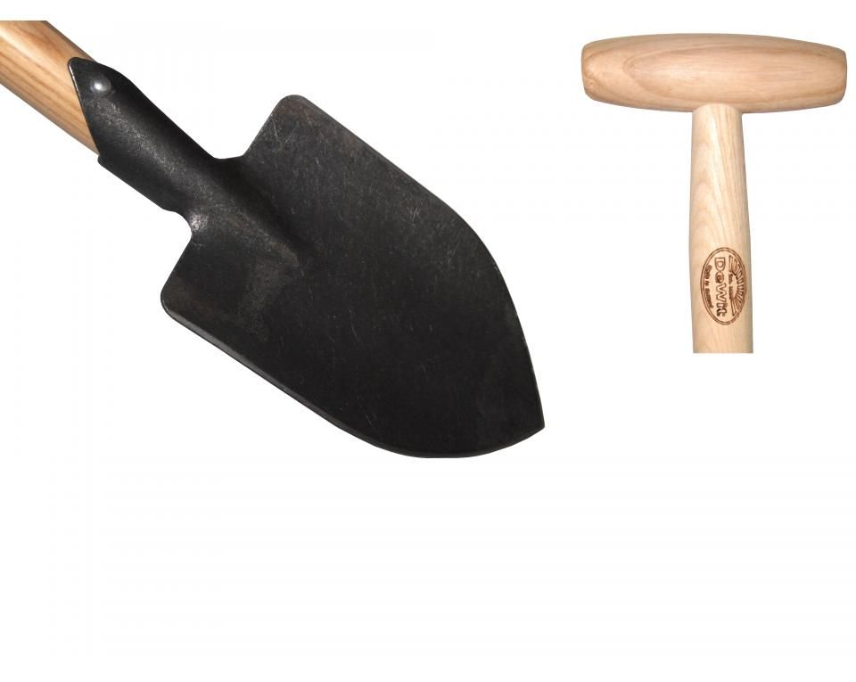 Junior pointed spade ash T-handle 800mm