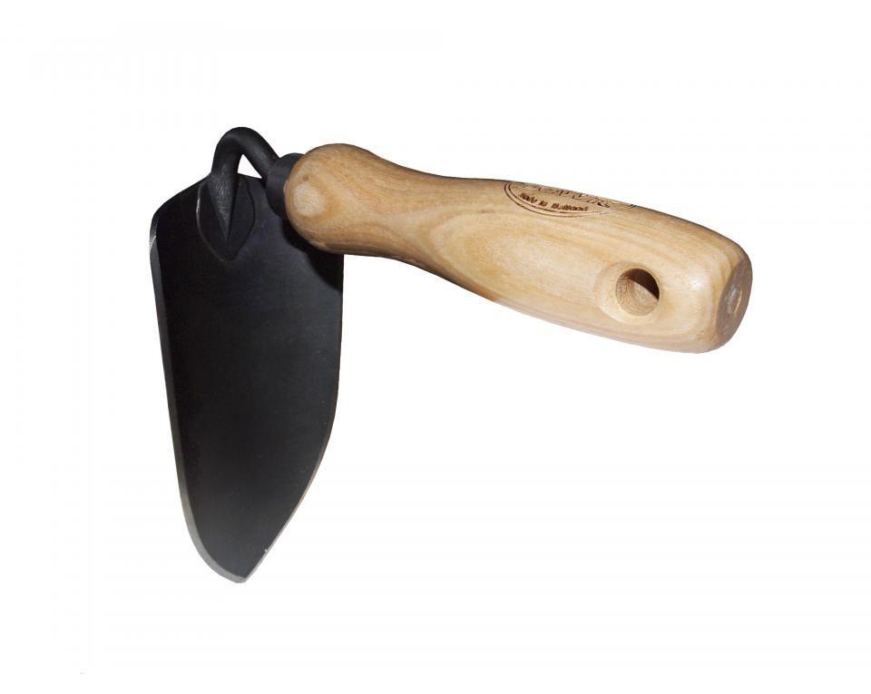 Plantschepje/hak essen handvat 140mm