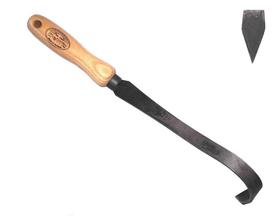 Bio V-groove cleaner ash handle 140mm