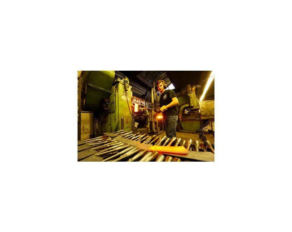 Ronde schoffel 22cm essen steel 1700mm