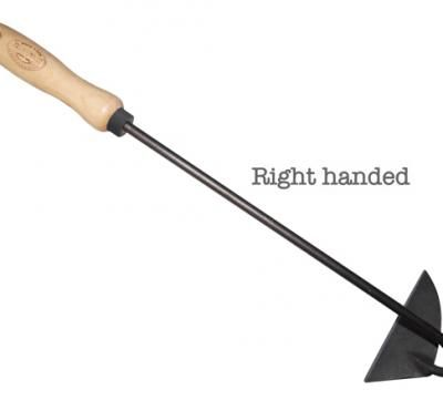 Dutch handhoe 12cm right ash handle 140mm
