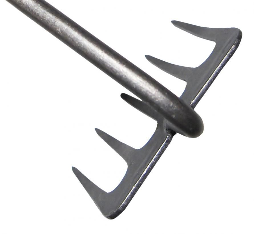 Handrake 5 tine ash handle 140mm