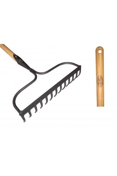 Bow tine rake X-treme ash handle 1400mm